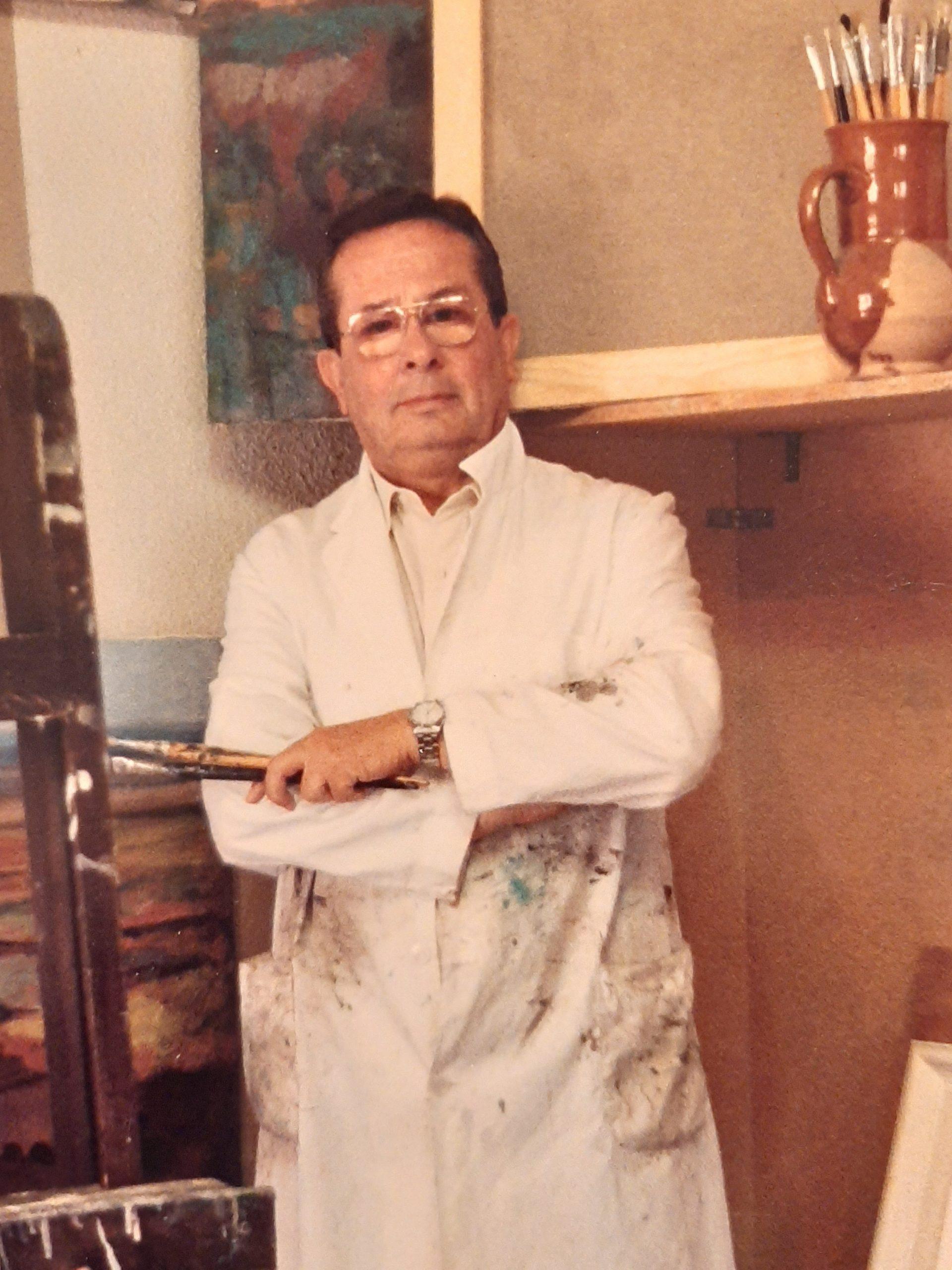 Juan Amo Vázquez. El Pintor de La Mancha.