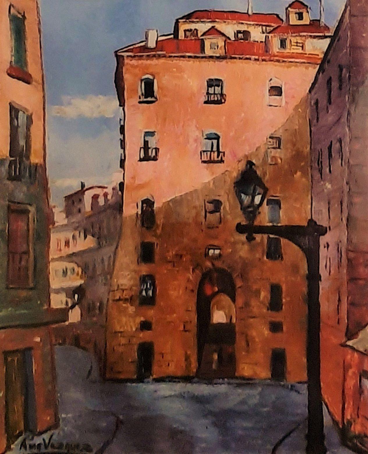 Juan Amo. (1957). Madrid Matutino. Colección Privada.