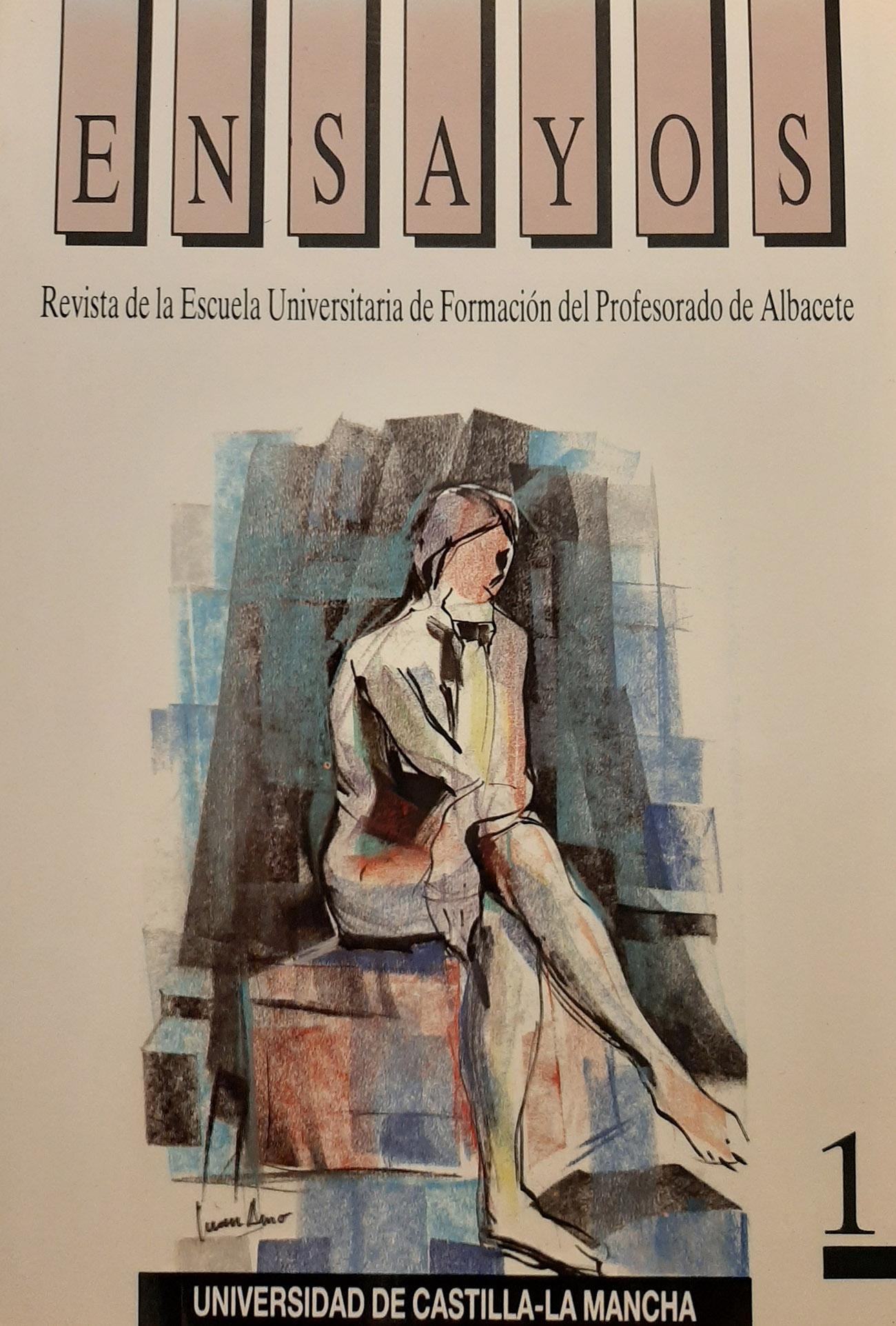 Juan Amo. (1997). Portada Revista Ensayos.