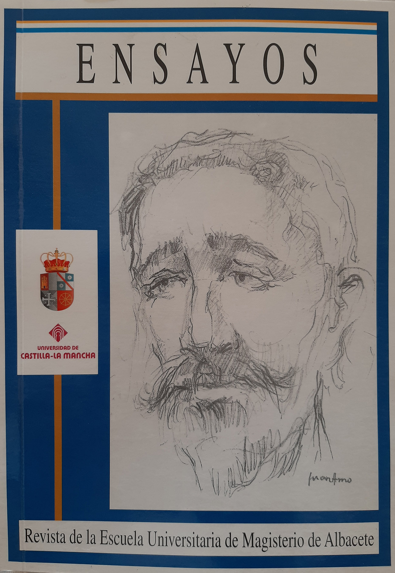 Juan Amo. (2003). Portada Revista Ensayos.