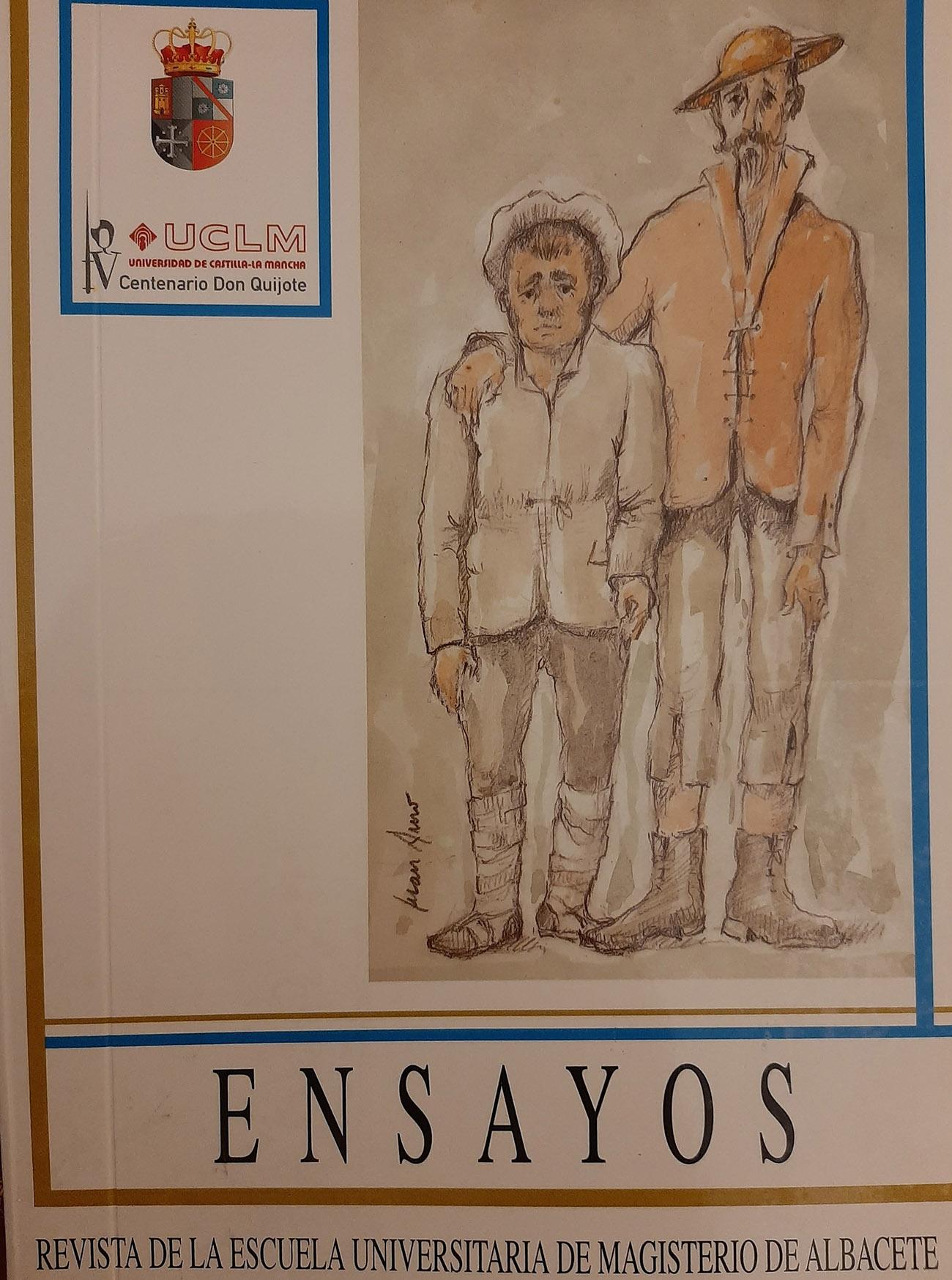 Juan Amo. (2005). Portada Revista Ensayos.