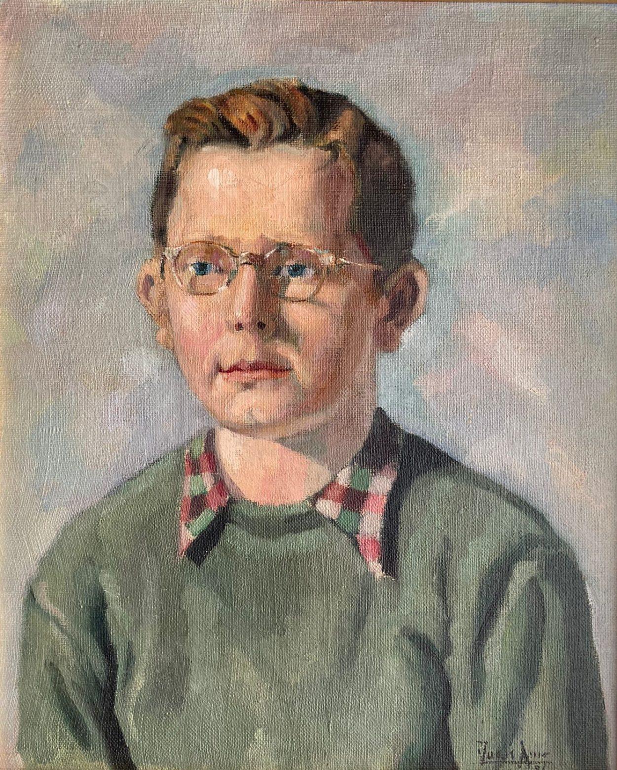 Juan Amo (1956). Retrato al óleo de Antonio Peiró Amo.